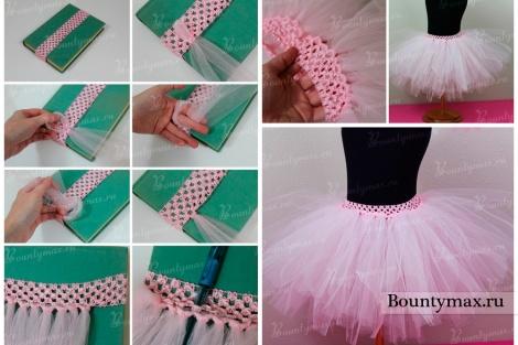 Как сделать юбку из основы юбки 373