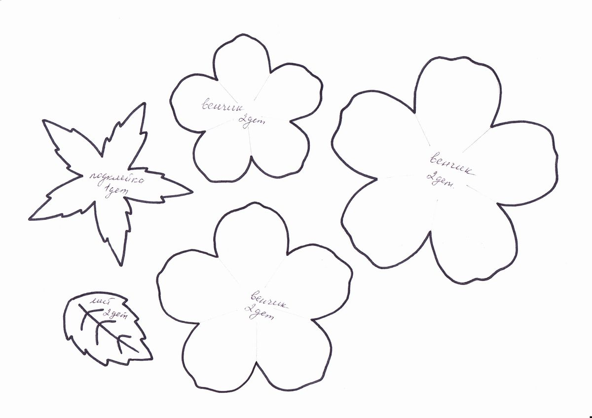 Розы из фоамирана своими руками схемы шаблоны для начинающих