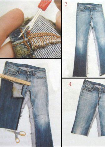 Что можно сделать из старых классических брюк своими руками 97