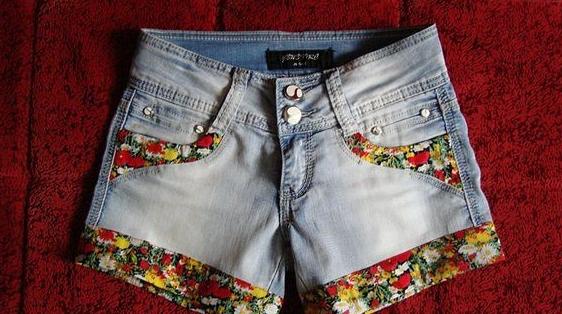 Сшить и украсить джинсы 448