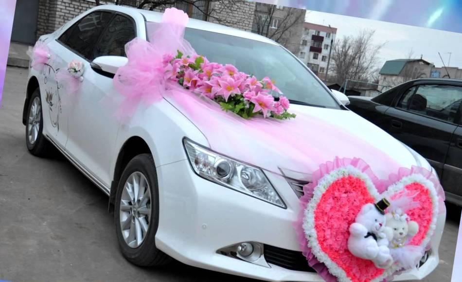 Как украсить своими руками свадебное авто 33
