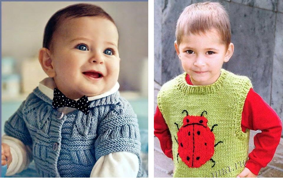 Вязание мальчику на 1 год